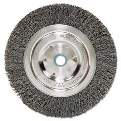 Weiler Bench Grinder Wheel, Medium, Face