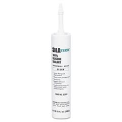 Loctite Silatech Clear RTV Silicone Adhesive Sealant, Clear, 10.15oz