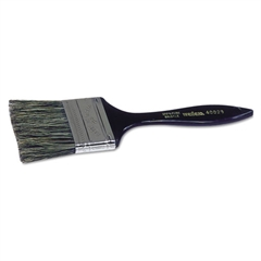 "Disposable Chip and Oil Brush, 2"", Gray. Plastic"