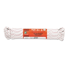 "Sash Cord, 3/16"" x 100ft, Cotton, Size Group 6"