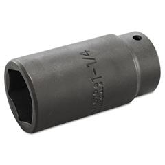 "Torqueplus Deep Impact Socket, 1/2"" Drive, 1-1/4"" Opening, 6-Point"