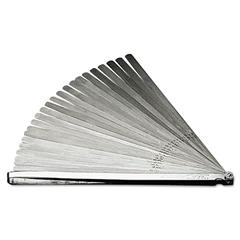 "Armstrong Tools Feeler Gauge Set, 25 Blades, 12"" Long"