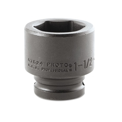 "PROTO Torqueplus Impact Socket, 3/4"" Drive, 1-1/2"" Opening, 6-Point"