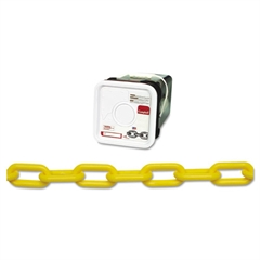 Campbell Plastic Chain, #8, 138ft, Yellow, Square Pail