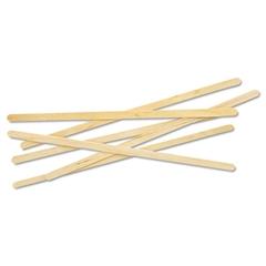 "Renewable Wooden Stir Sticks - 7"", 1000/PK"