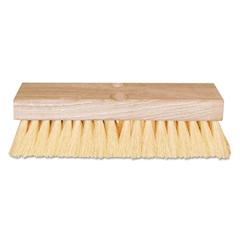 """Deck Scrub Brush, w/Handle, 10"""""""