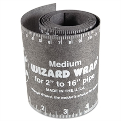 "Wizard Wrap, Medium, 2"" to 16"" Pipe"