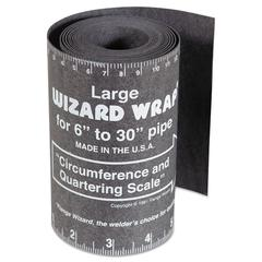 "Flange Wizard Tools Wizard Wrap, Large 6"" to 30"" Pipe"