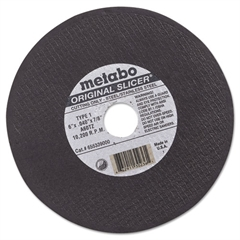 "ORIGINAL SLICER Cutting Wheel, 6"" x .04"" x 7/8"", Type 1, A60TZ"
