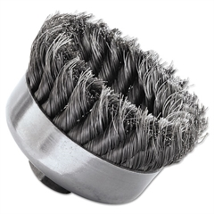 SR-4 General-Duty Knot Wire Cup Brush, .014