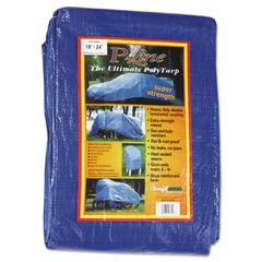 Multiple Use Tarpaulin, Polyethylene, 18ft x 24ft