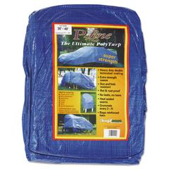 Multiple Use Tarpaulin, Polyethylene, 30ft x 40ft
