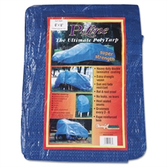 Multiple Use Tarpaulin, Polyethylene, 6ft x 8ft