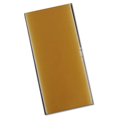 "Gold Filter Plate, 2"" x 4"", #11, Glass"