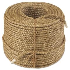 "Manila Rope, 3-Strand, 3/8"" x 600ft, 25lb"