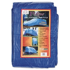 Multiple Use Tarpaulin, Polyethylene, 20ft x 30ft