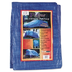 Multiple Use Tarpaulin, Poly Woven Laminate, 8ft x 10ft