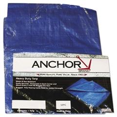 Anchor Brand Multiple Use Tarpaulin, Polyethylene, 10ft x 16ft