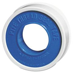 "PTFE Pipe Thread Tape, 1/4"" x 520ft, Standard, White"