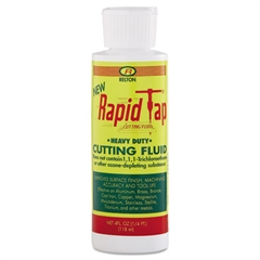 Relton Rapid-Tap Metal Cutting Fluid, Hard Metal, 4oz
