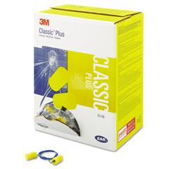3M E-A-R Classic Plus Foam Earplugs, Corded, NRR 33, Pillow-Pak