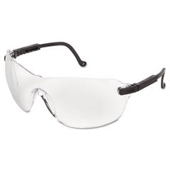 Uvex Spitfire Safety Spectacles, Black Frame, Clear Lens
