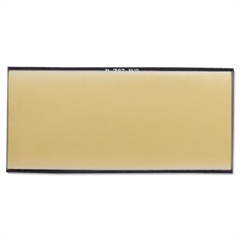 "Gold Filter Plate, 2"" x 4"", #9, Glass"