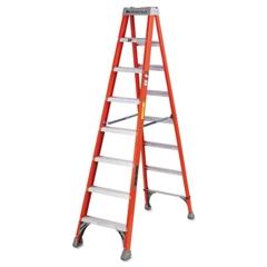 Louisville FS1500 Series Fiberglass Step Ladder, 8ft