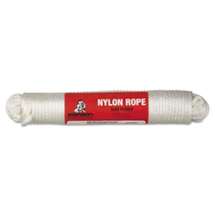 "General Purpose Cord, 1/4"" x 100ft, Size Group 8, Solid Braid Nylon"