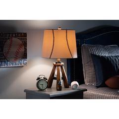 Baxton Studio Ramiro Modern and Contemporary Baseball Table Lamp