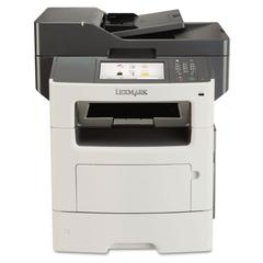 Lexmark MX611de Multifunction Laser Printer, Copy/Fax/Print/Scan