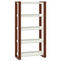 kathy ireland® Home by Bush Furniture Voss 5 Shelf Etagere Bookcase