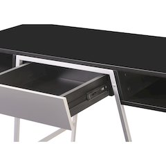 Modern Home Desk Black