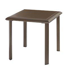 Talon Square Glass Side Table