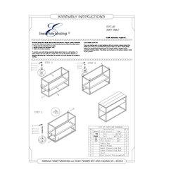 Stoneworks Sofa Table-Wood-Concrete-Metal