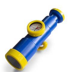 Telescope with Compass -Blue/Yellow