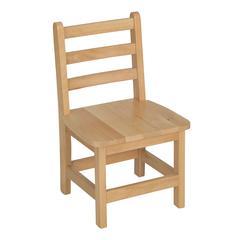 "12"" Atlas Classroom Chair- Natural"
