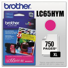 Brother LC65HYM Innobella High-Yield Ink, Magenta