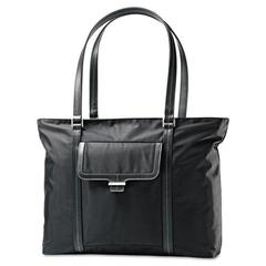 Ultima 2 Ladies Laptop Bag, 12 3/4 x 4 1/2 x 18 1/2, Nylon Twill, Black