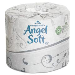 Angel Soft ps Premium Bathroom Tissue, 450 Sheets/Roll, 40 Rolls/Carton