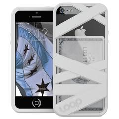 Loop Mummy Case for iPhone 5/5S, White