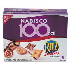 Nabisco Ritz 100 Calorie Snack Mix, 6/Box