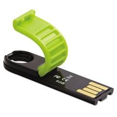 Verbatim Store 'n' Go Micro USB 2.0 Drive Plus, 8GB, Green