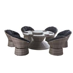 Alice 8 pc Dining set