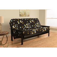 Monterey Frame/Black Finish/Modern Blocks Mattress