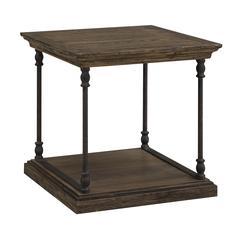 "Corbin End Table H24.00"", Brown"