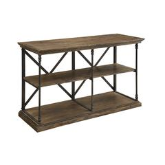 Corbin Media Console, Brown