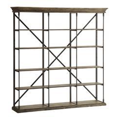 Corbin Large Bookcase, Brown