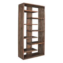 Brownstone Bookcase, Brown