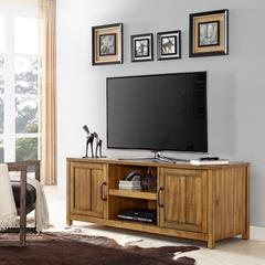 """60"""" Roots Tv Stand In Natural"""